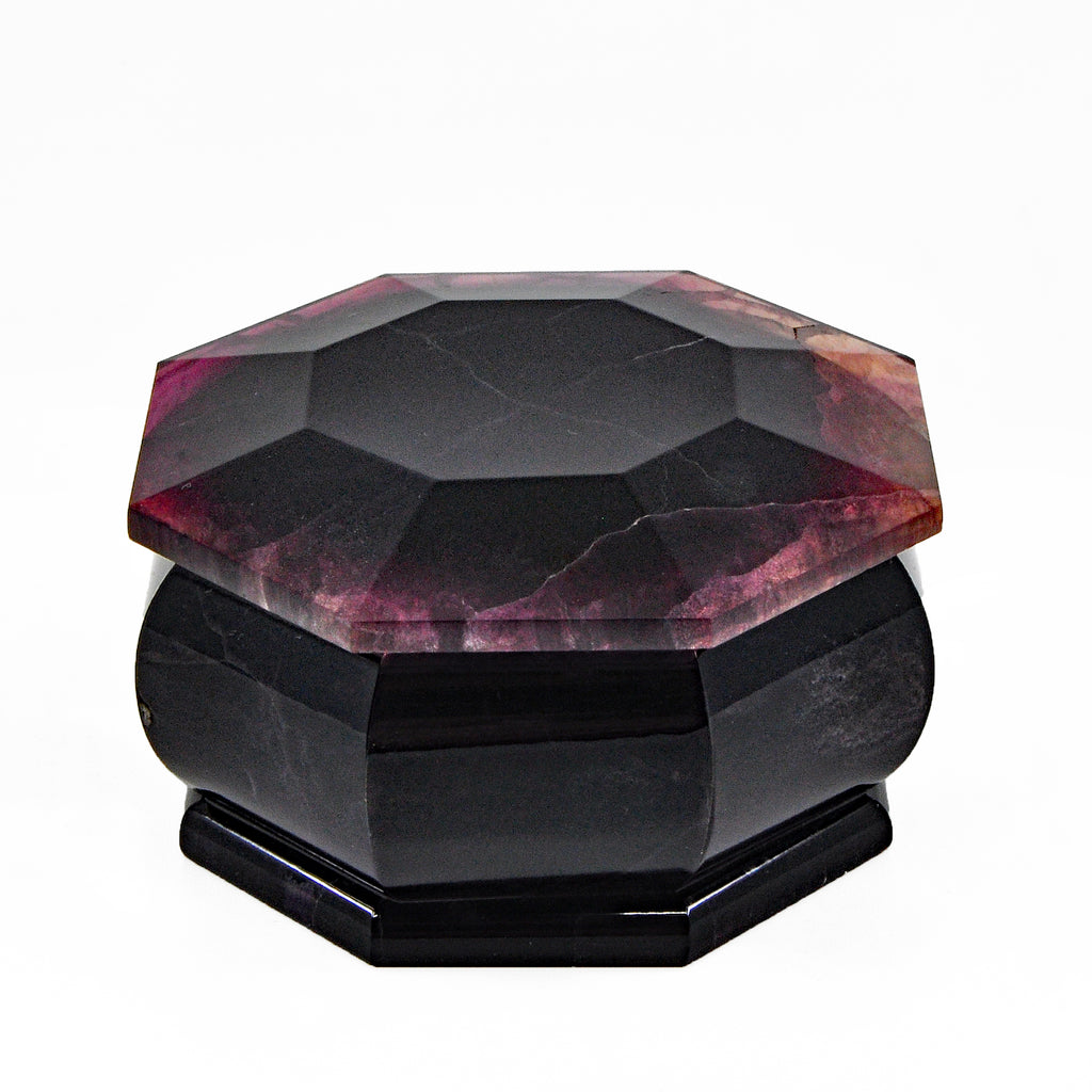 Fluorite 2.35 inch 173 gr Natural Crystal Polished Box