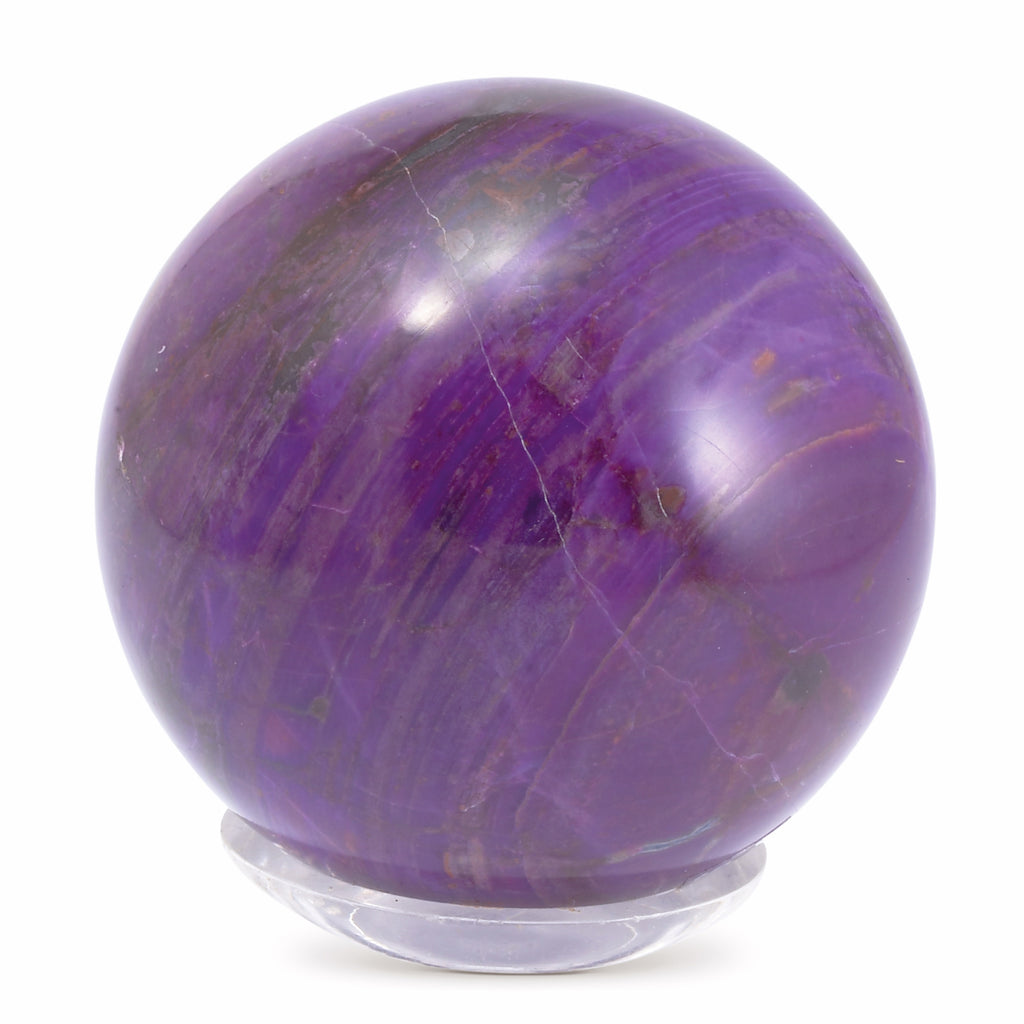 Sugilite 2.28 inch .63 lb Natural Crystal Sphere - South Africa