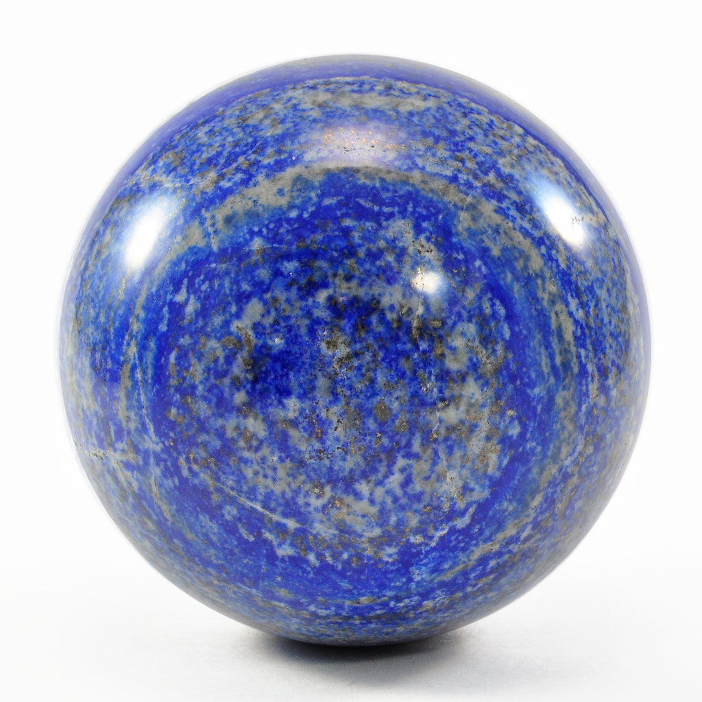 Lapis Lazuli 3.11 inch Natural Crystal Sphere - Afghanistan