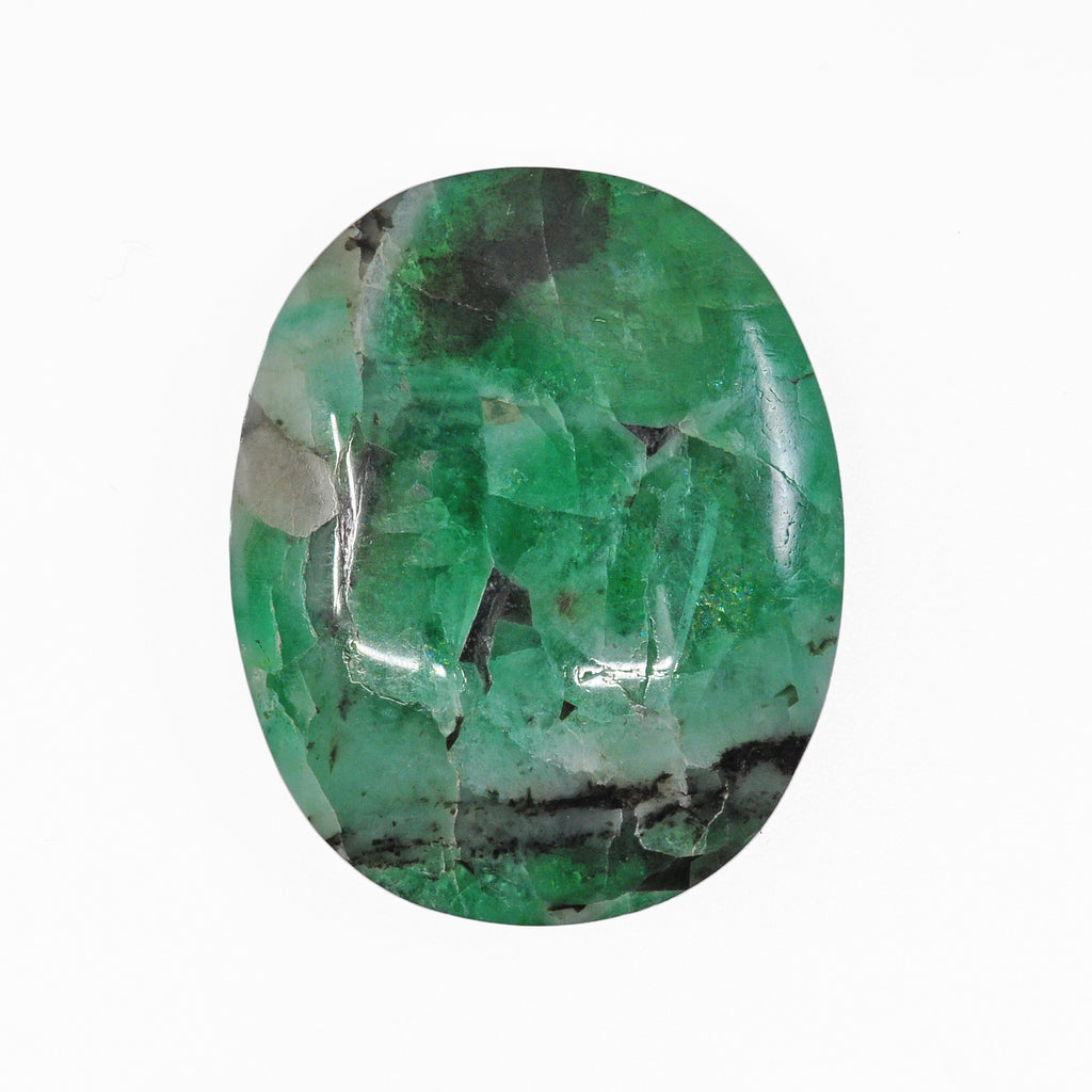 Matrix Emerald 25.44ct Cabochon - Brazil