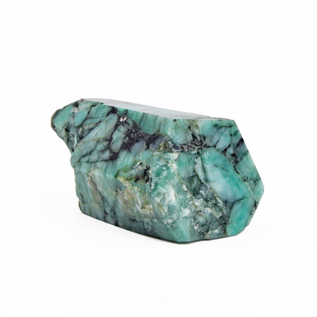 Emerald in Matrix 3.7 inch Polished Crystal - Brazil
