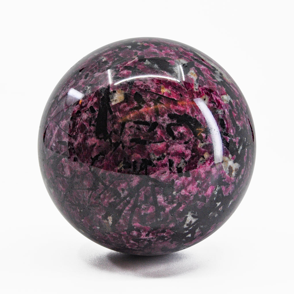 Eudialyte 3.14 inch 804.6 gram Natural Crystal Sphere - Russia