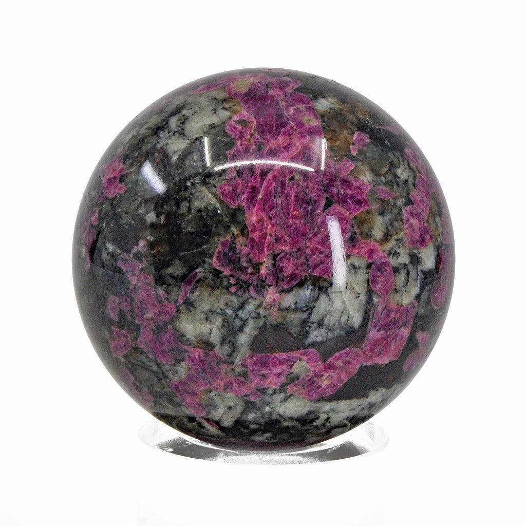 Eudialyte 2.24 inch 276 gram Natural Crystal Sphere - Russia