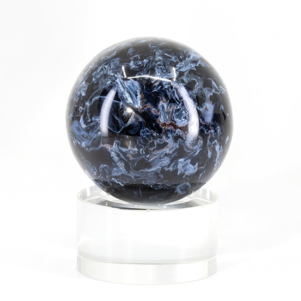 "Pietersite 1.7"" 117 gram Polished Crystal Sphere - South Africa"