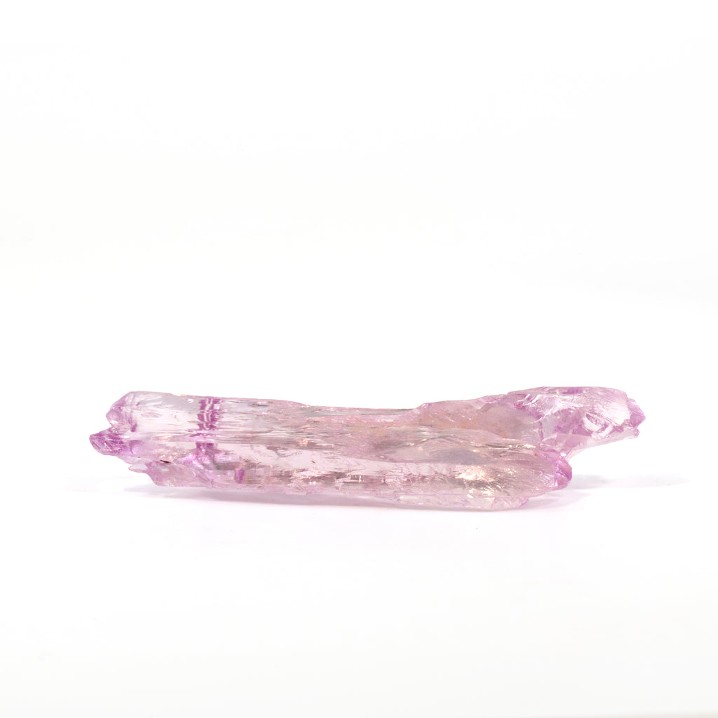 Kunzite 98 carat 67mm Natural Gem Crystal - Brazil