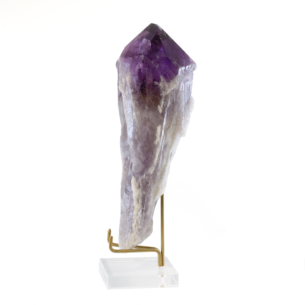 Amethyst 8.5 inch 1.96lb Natural Crystal Spear - Brazil
