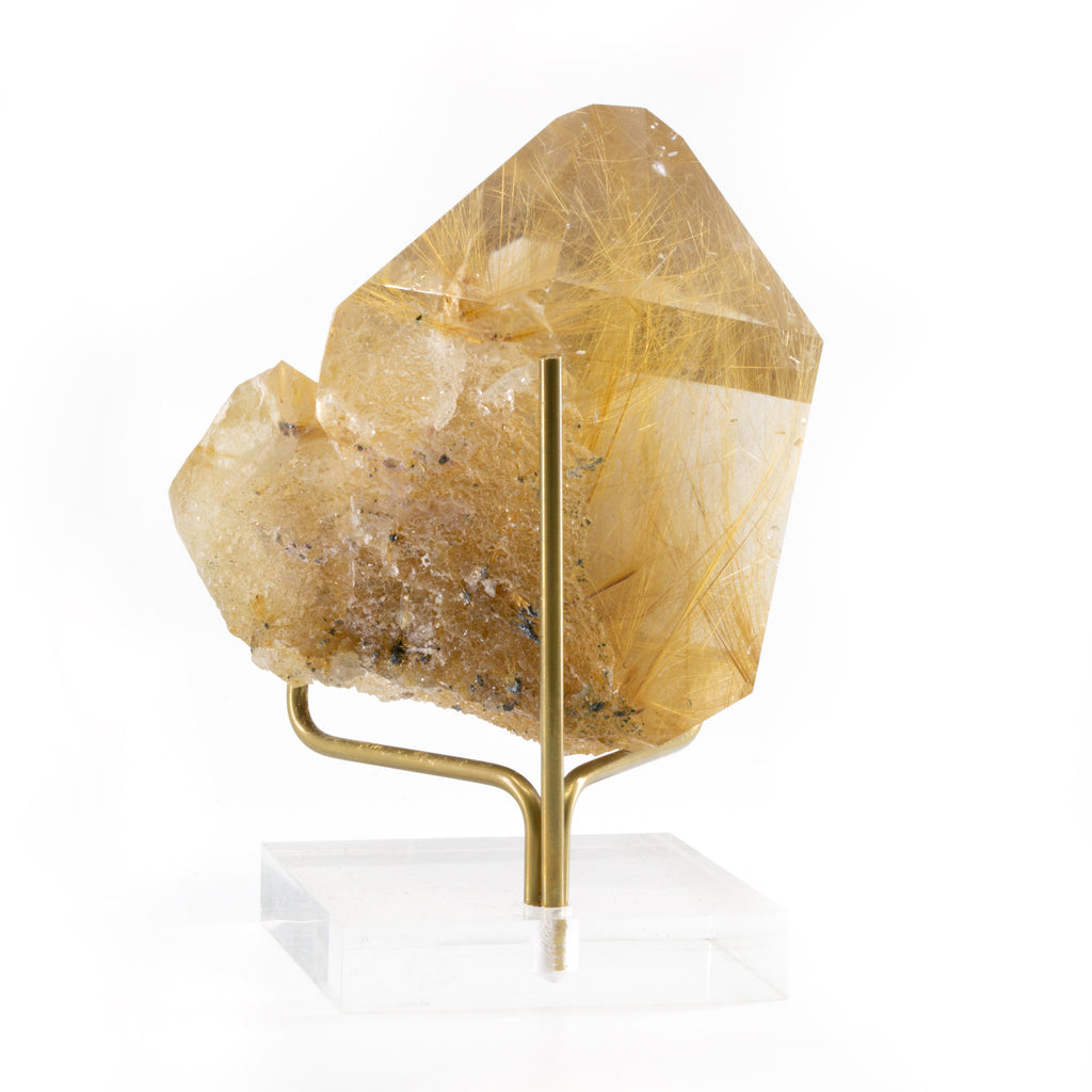 Rutilated Quartz 3.7 inch 1.09lb Natural Crystal - Brazil