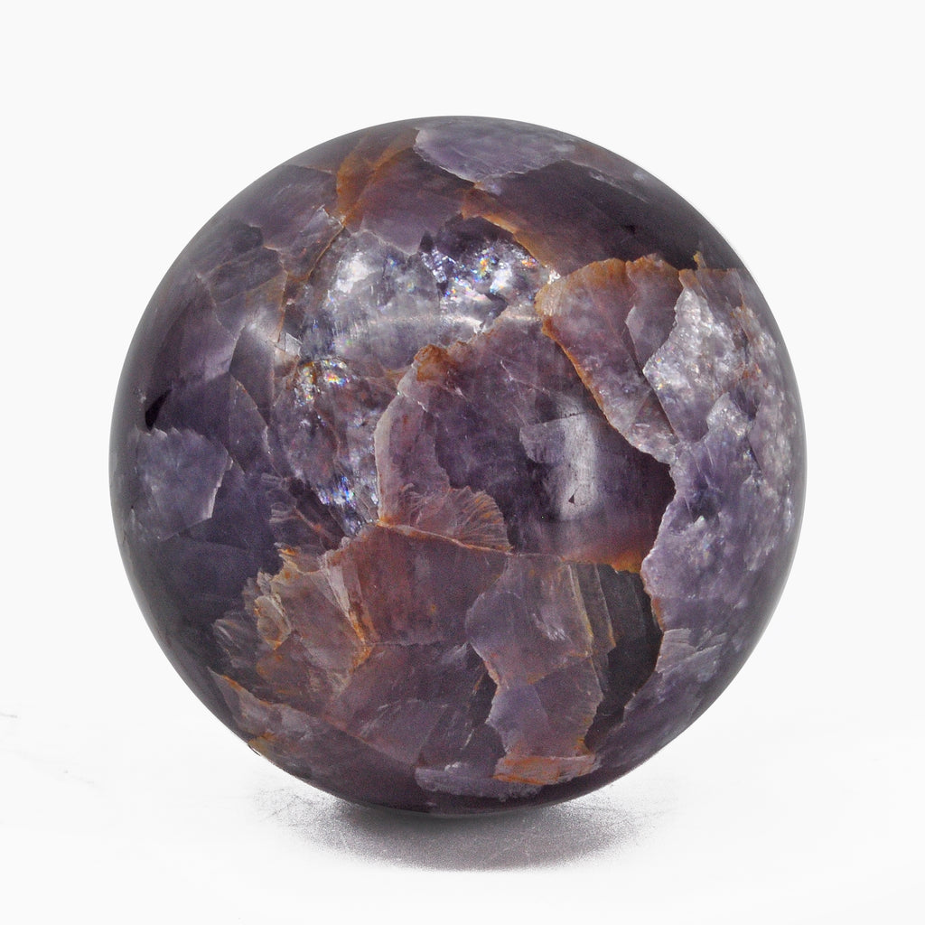 Lepidolite 1.91 inch 166 grams Natural Crystal Polished Sphere - India