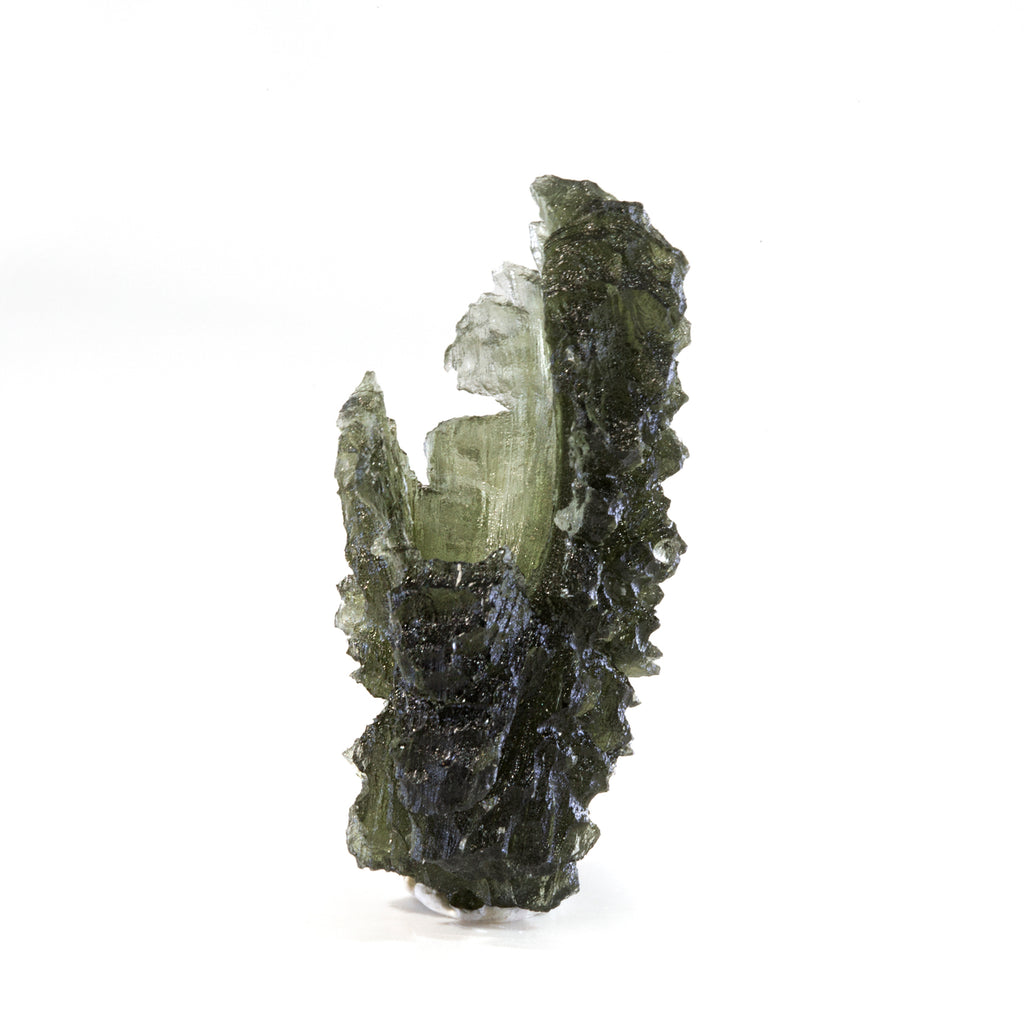 Moldavite 9.97 gram 1.57 inch Natural Crystal - Czech Republic