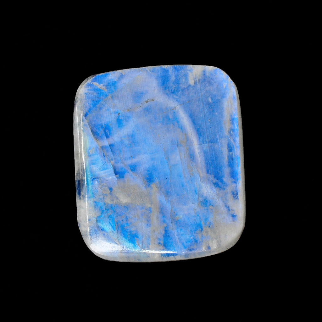 Blue Moonstone 22.22 mm 28.33 carats Natural Crystal Aphrodite Gem Carving
