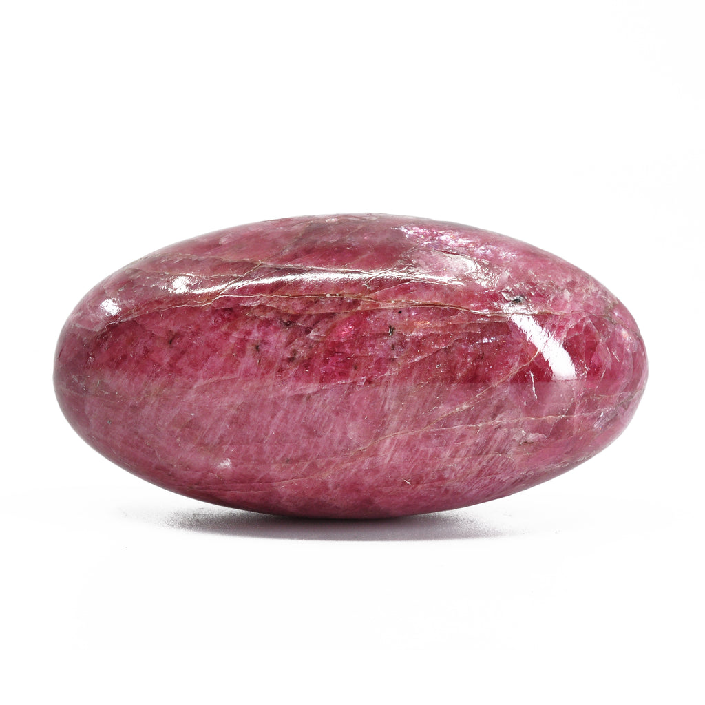 Gem Rhodonite 2.58 inch 140 gram Natural Crystal Lingam - Brazil
