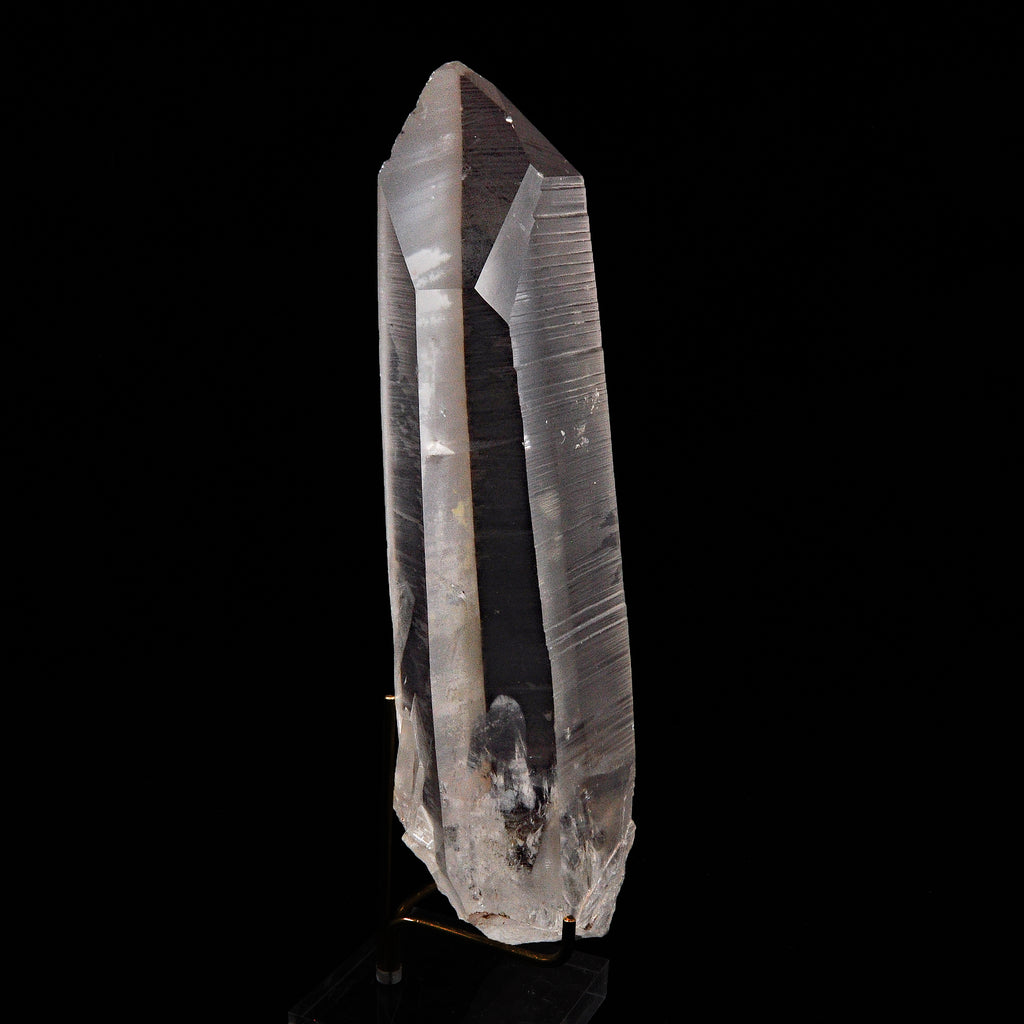 Quartz Natural '' Lemurian '' Crystal - Sapo  Mine, Brazil