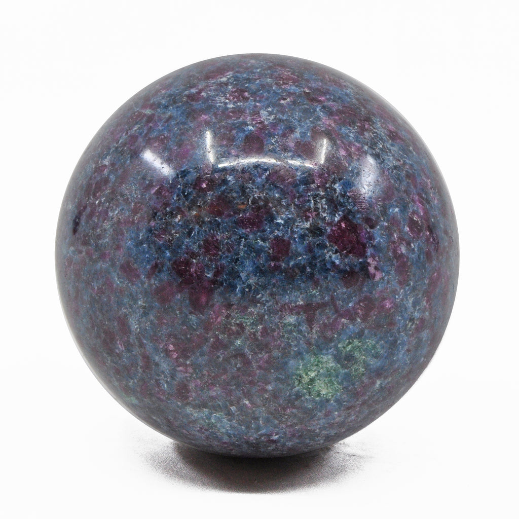 Ruby Kyanite 2.4 inch 348 gram Natural Crystal Polished Sphere - India