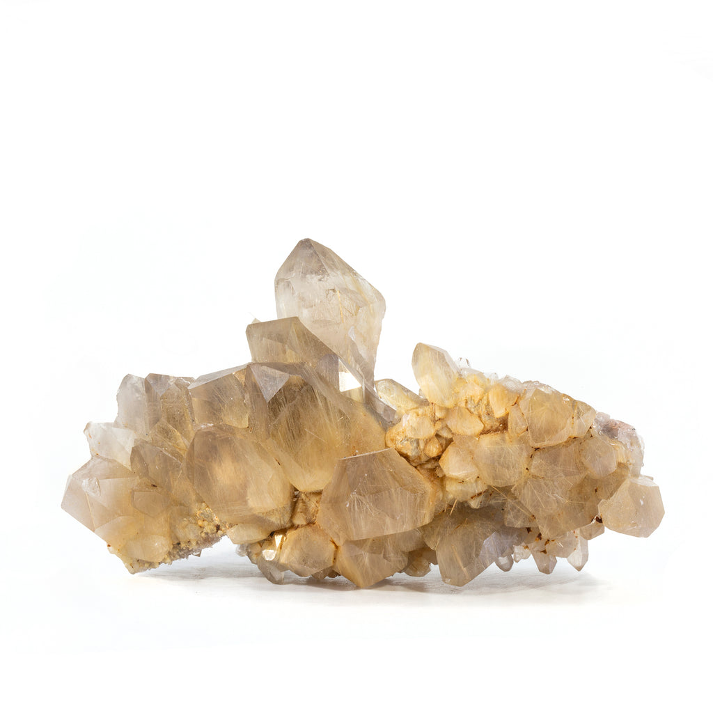 Golden Rutilated 4.3 inch Natural Crystal Cluster - Brazil