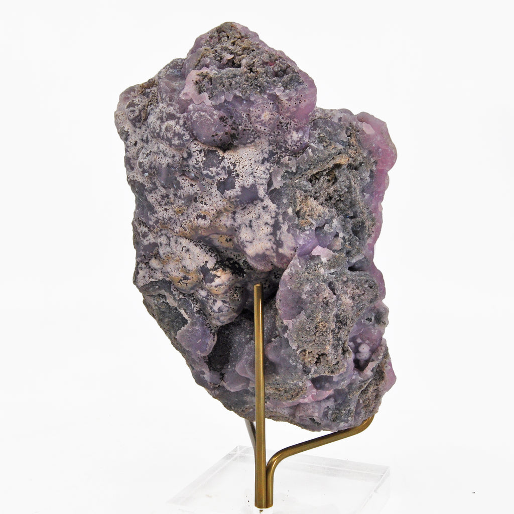 Vibrant Pink and Purple Smithsonite 5.87 inch 2.89 lbs Natural Crystal Specimen - Sinaloa, Mexico