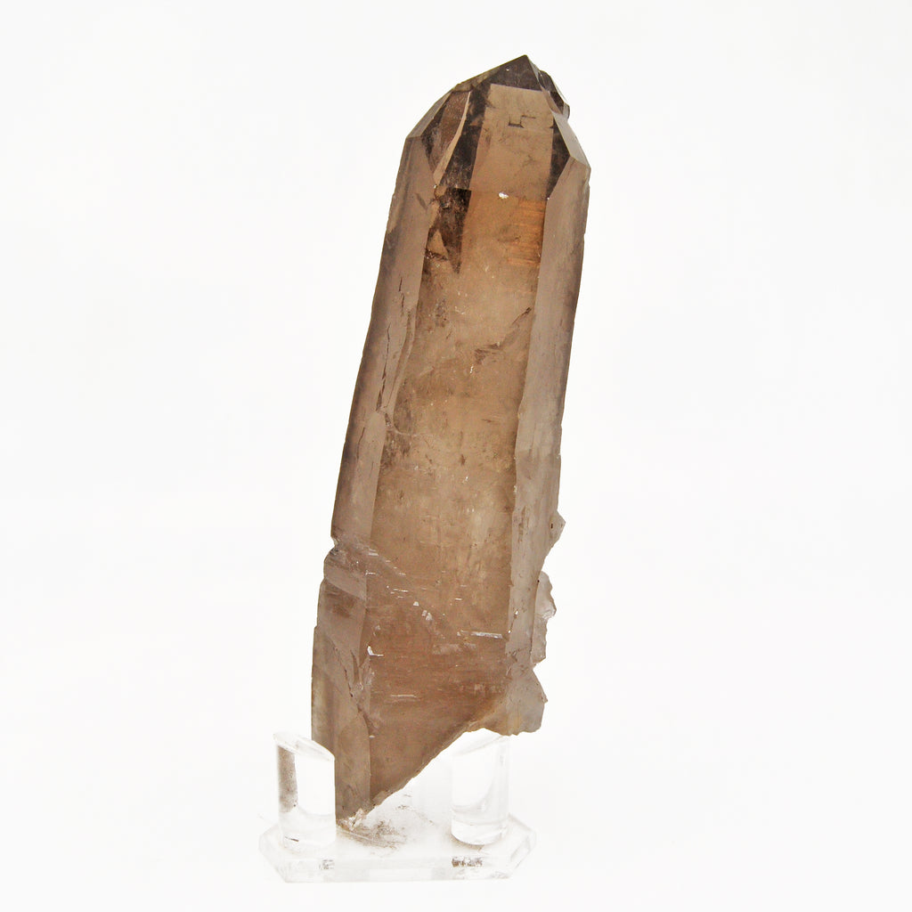 Smoky Quartz 9.0 inch 2.5 lbs Natural Crystal Point - Brazil