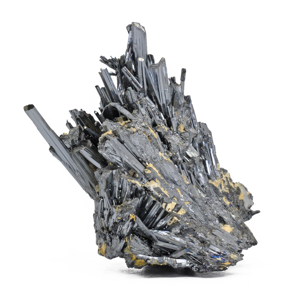 Stibnite 4.2 inch 0.97 lbs Natural Crystal Cluster - China