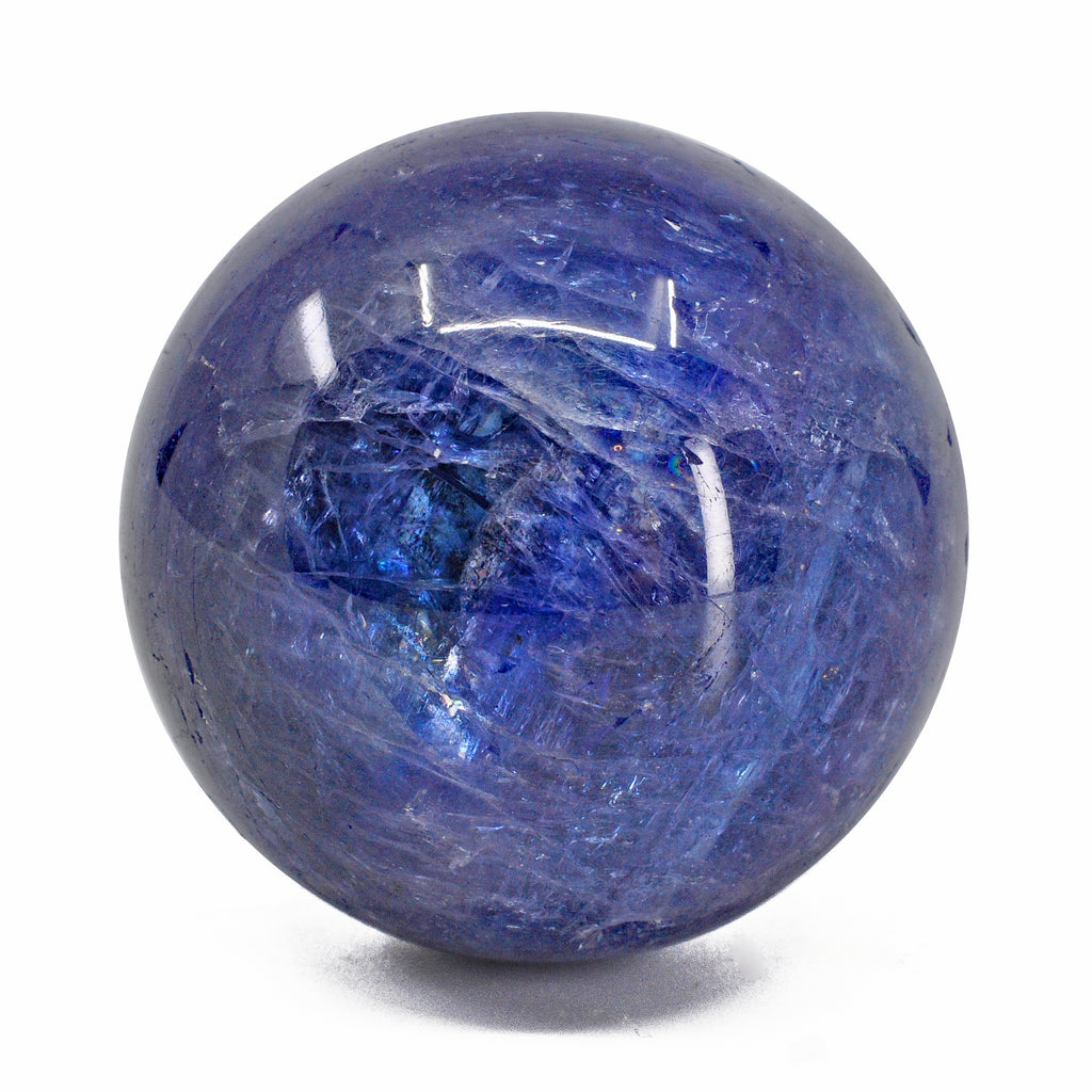 Tanzanite 1.54 inch 103.1 grams Polished Gem Crystal Sphere - Tanzania