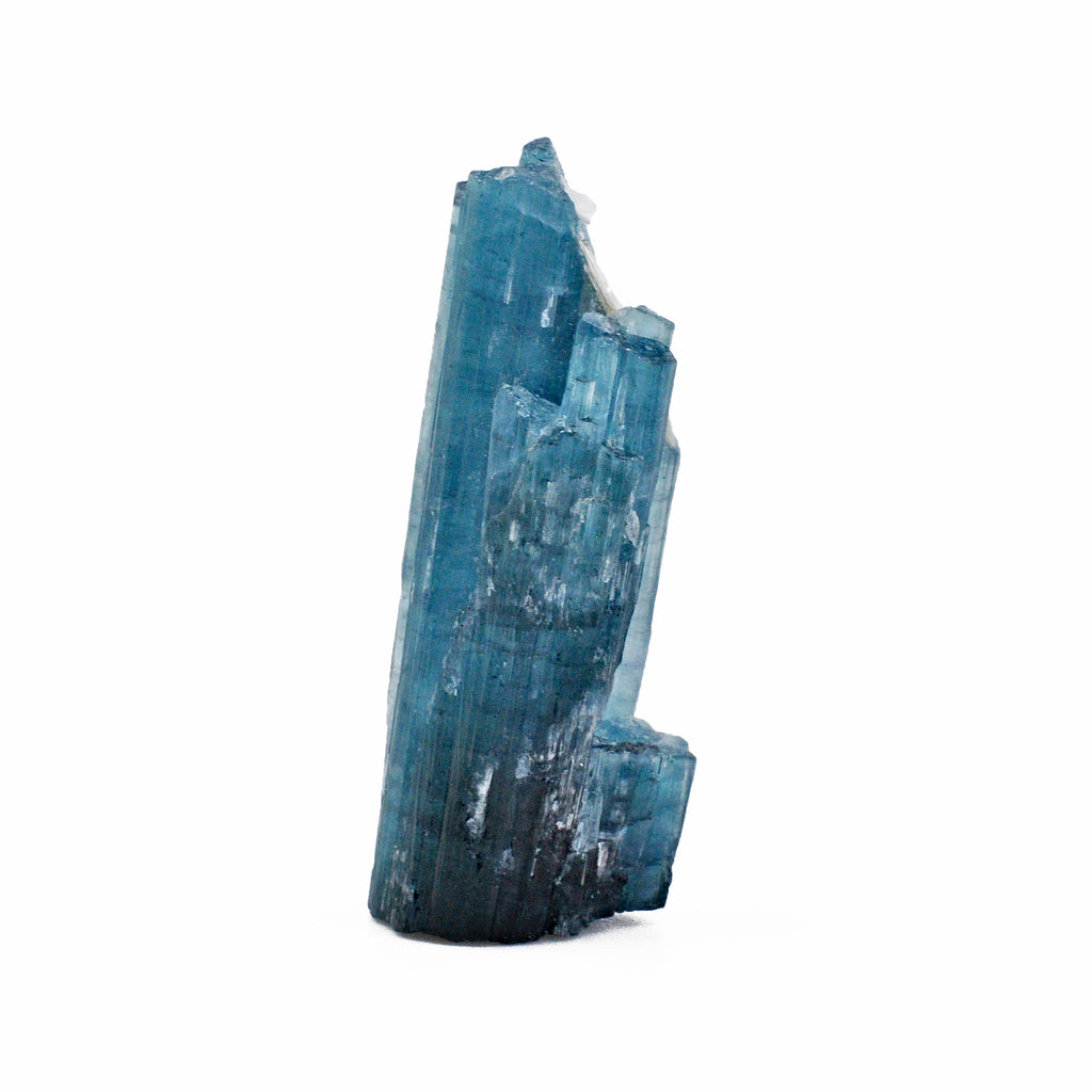 Indicolite - Blue Tourmaline 1.3 inch 7 grams Natural Gem Crystal - Brazil