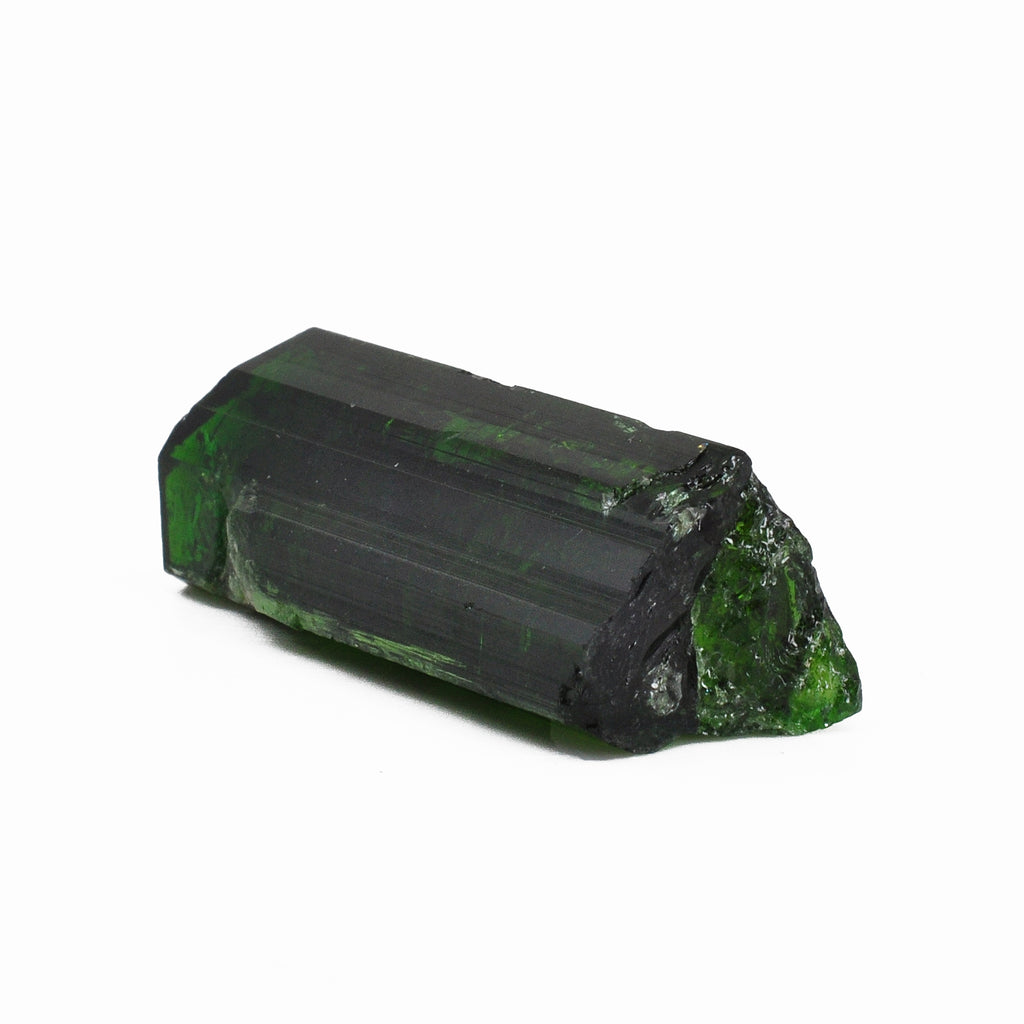 Chrome Green Tourmaline 43.16 mm 15.8 grams Natural Gem Crystal - Tanzania