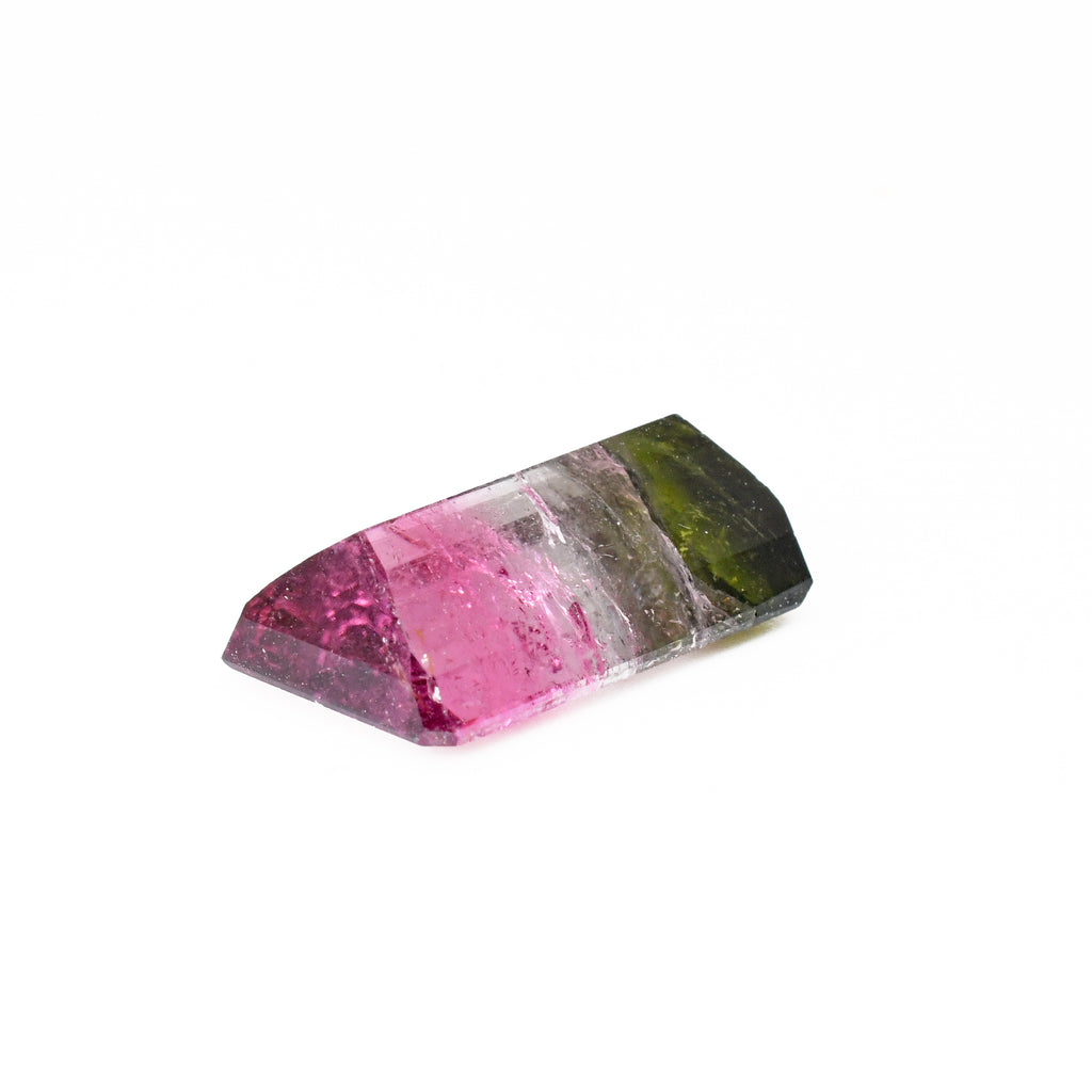 Faceted Tri Color Tourmaline 17.73mm 10.44ct Gemstone