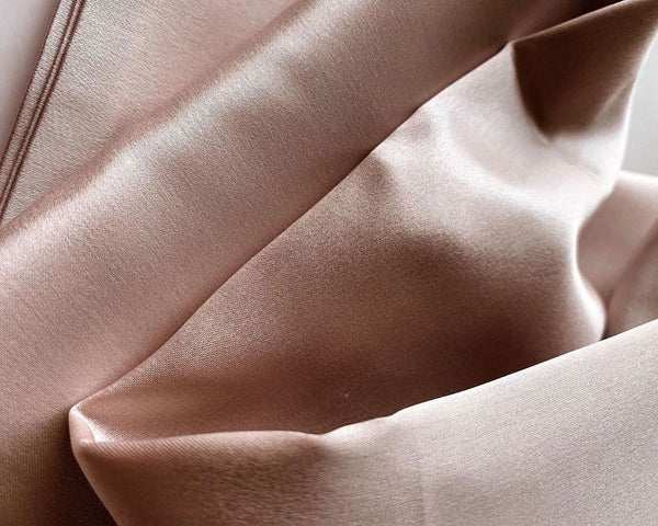 champagne luxury mulberry silk pillowcase