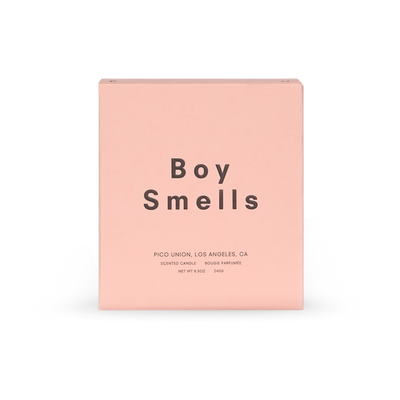Boy Smells Ash Candle Retail box