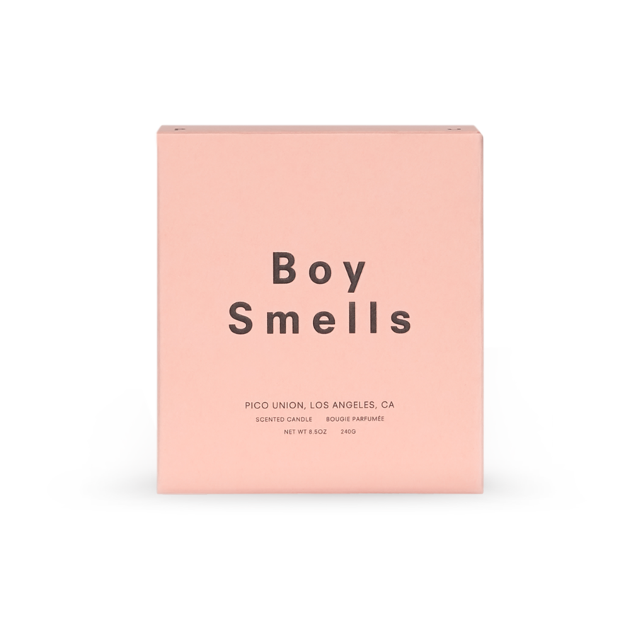 Boy Smells Lanai Candle box