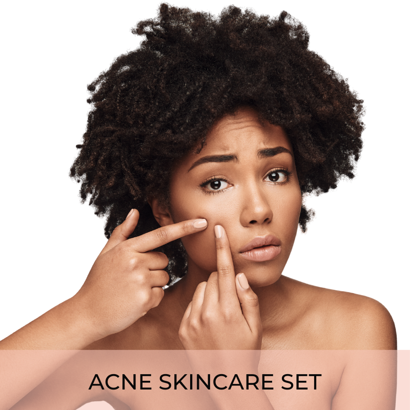 Acne skincare set