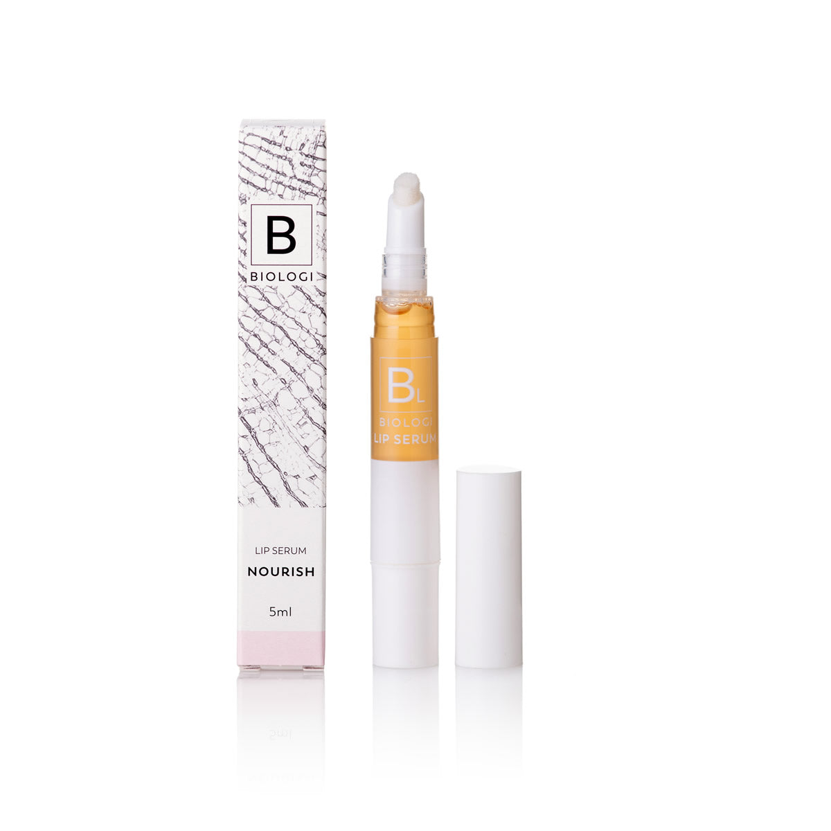 Biologi BL Nourish Lip Serum Packaging