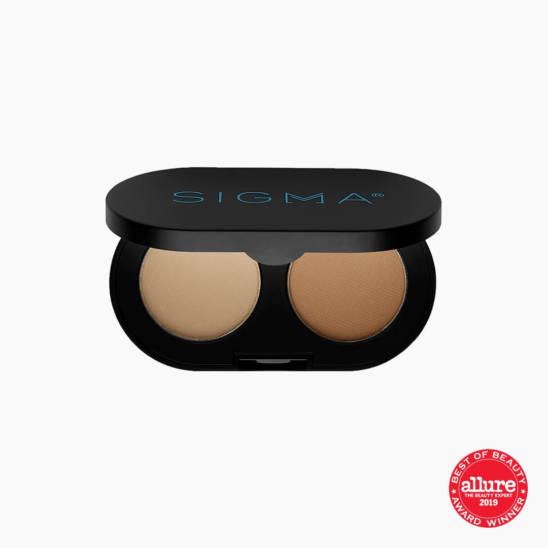 Color + Shape Brow Powder Duo - Light