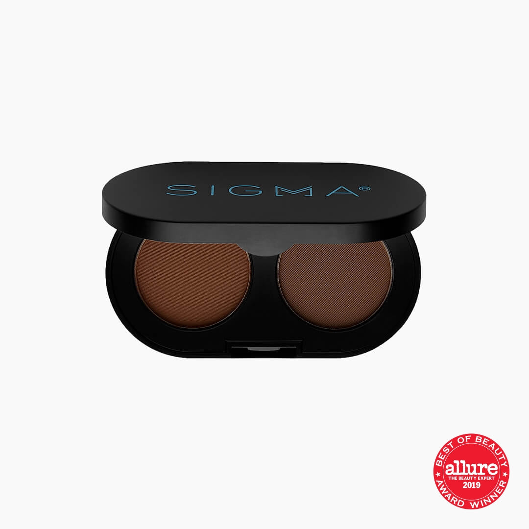 Color + Shape Brow Powder Duo - Dark