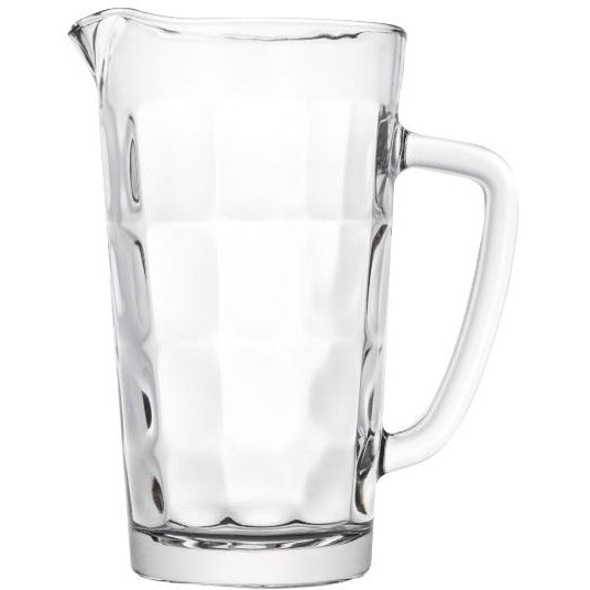 "Glass Jug ""Bricks"" 1 litre"