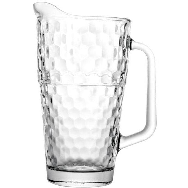"Glass jug ""Honeycomb"" 1.25 litres"