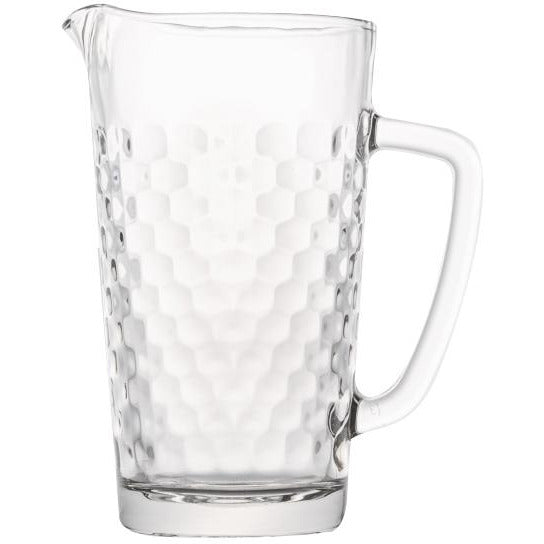 "Glass jug ""Honeycomb"" 1 litre"