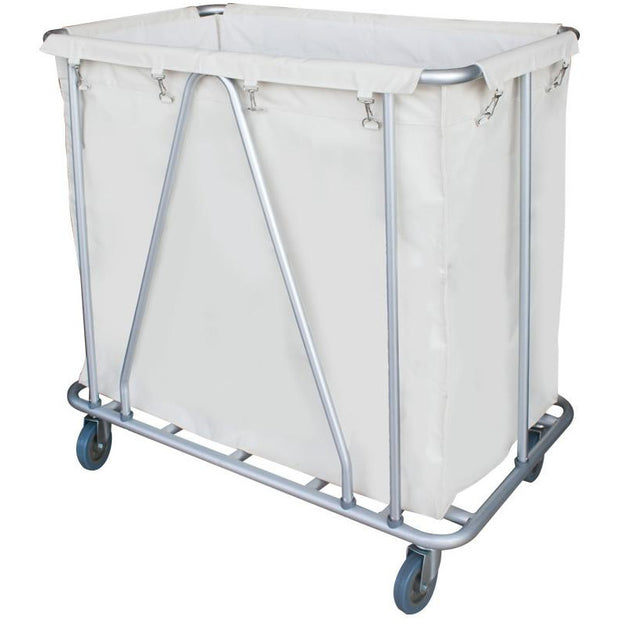 Steel tube laundry trolley 97cm