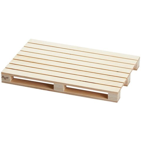 "Wooden serving tray ""Pallet"" 30cm Natural"