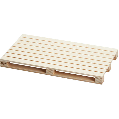 "Wooden serving tray ""Pallet"" 35cm Natural"