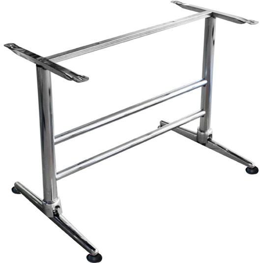 "Stand for rectangular table top ""Classic"" chrome"