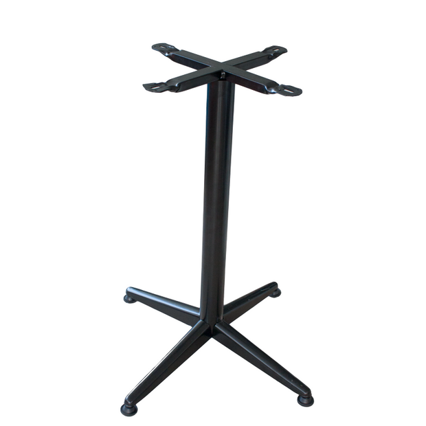 Aluminium stand for square/round table top Black