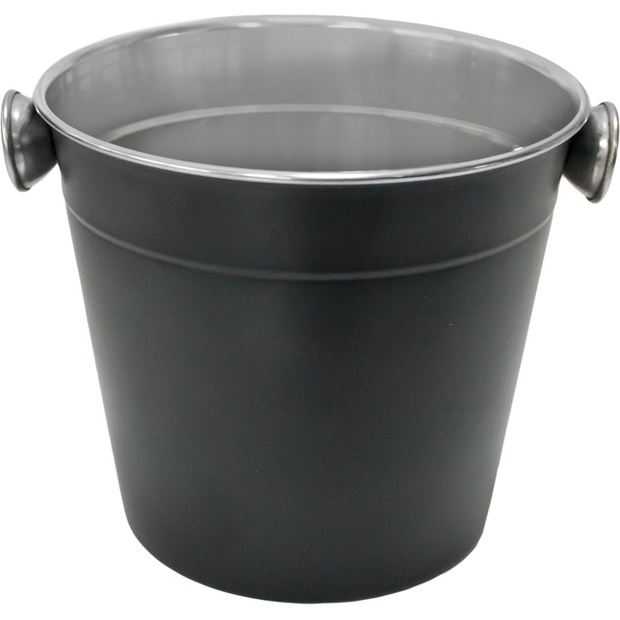 Ice bucket black 10cm