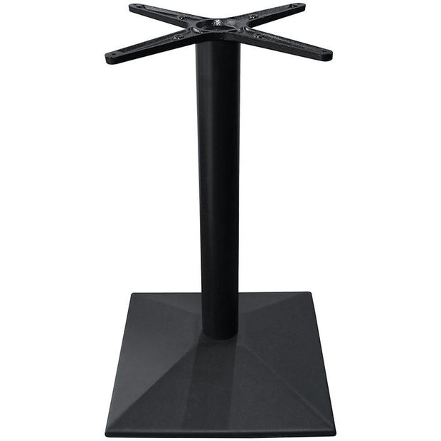 Metal table stand for square/round table black 40cm