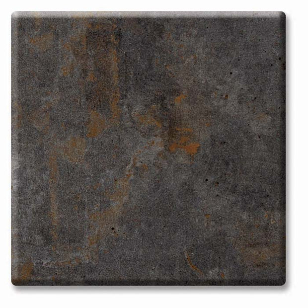 "Square table top ""Metallic Oxide"" 80cm"