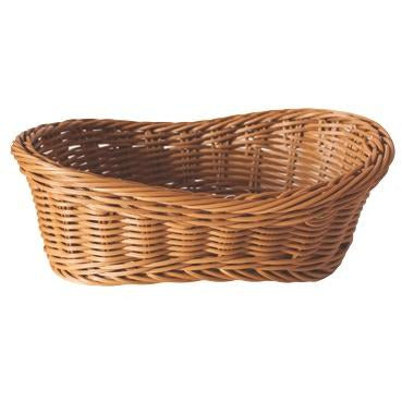 Oval waterproof bread basket 29cm