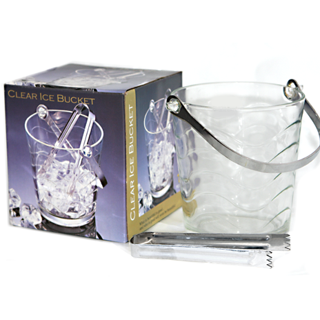 "Glass ice bucket ""TOROS"""