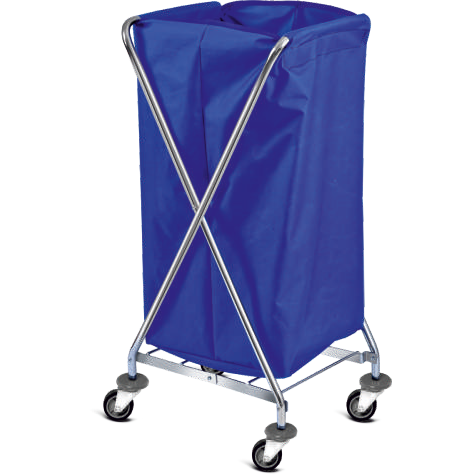 Hunter hotel folding laundry hamper cart 40cm