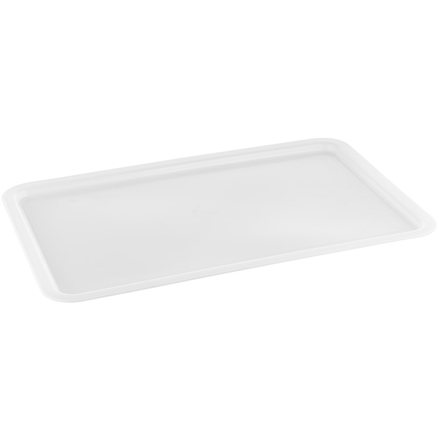 Lid for polypropylene pizza dough box