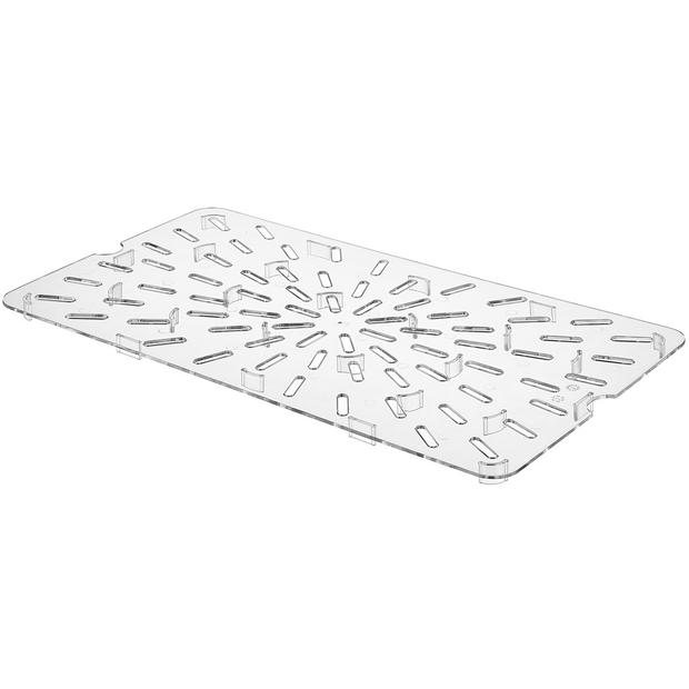 Polycarbonate GN 1/4 drain tray 20.8cm
