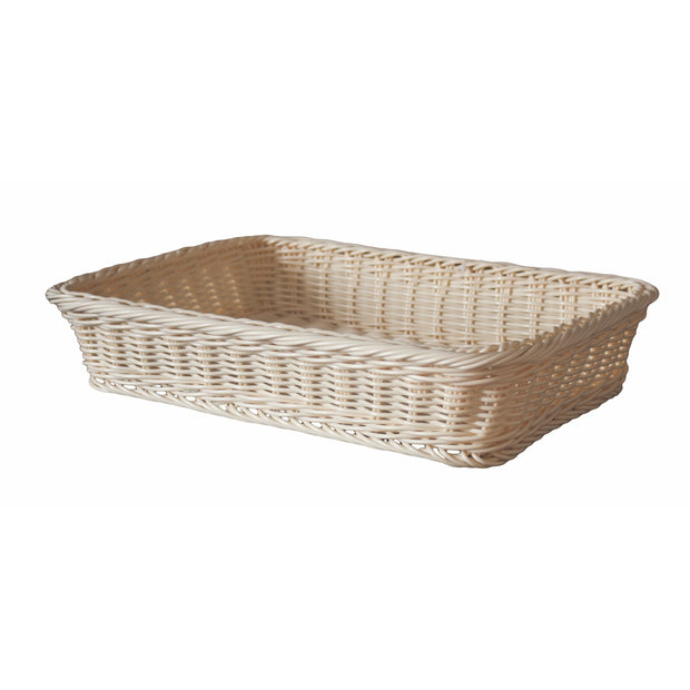 Rectangular waterproof bread basket 37cm