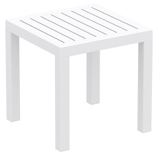 "Square coffee table white ""Ocean"" 45cm"